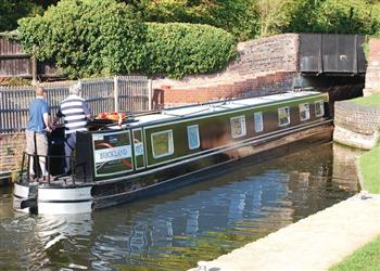 Boating holidays on Askrigg (BH2358) from Trevor, Llangollen