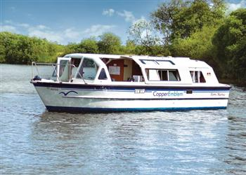 Boating holidays on Copper Emblem (BH1725) from Ferry Marina, Norwich