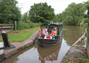 Boating holidays on Samphire (BH2360) from Trevor, Llangollen