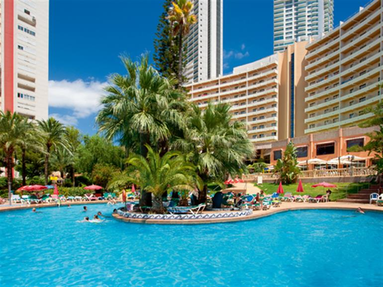 Hotel Palm Beach Benidorm And Don Jorge Apartments