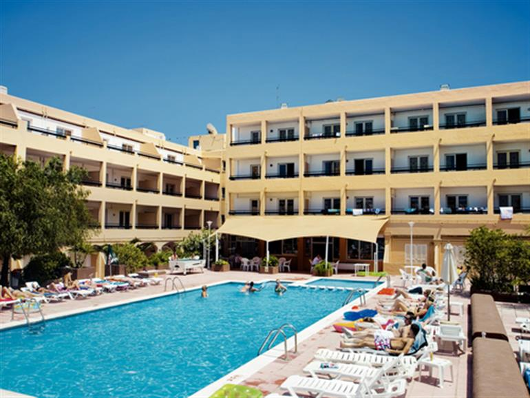 Sunshine Apartments San Antonio Bay Ibiza Balearic Islands 2 Star Resort In Balearic Islands