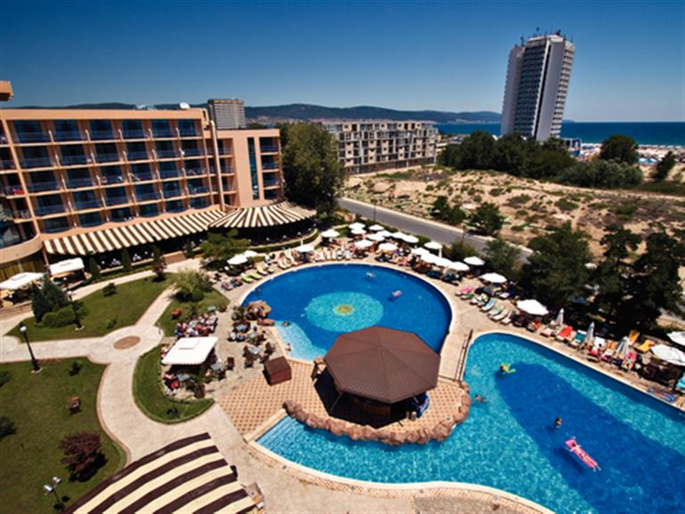 Tiara beach hotel sunny beach bulgaria 4 star resort - Sunny beach pools ...