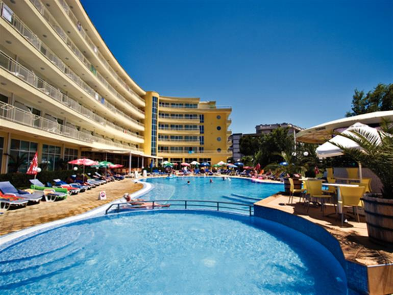 Wela hotel sunny beach bulgaria 3 star resort in bulgaria - Sunny beach pools ...