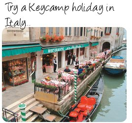 Keycamps in Italy