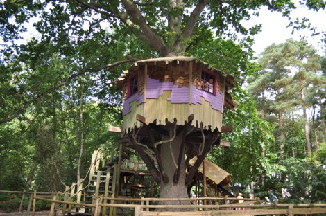 Tree house at BeWILDerwood