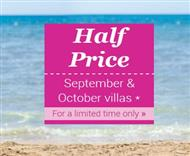 James Villas 2015 half-price sale