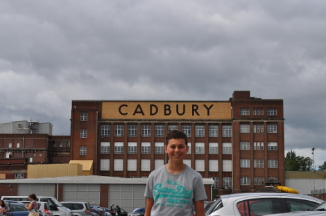A day at Cadbury World in Birmingham
