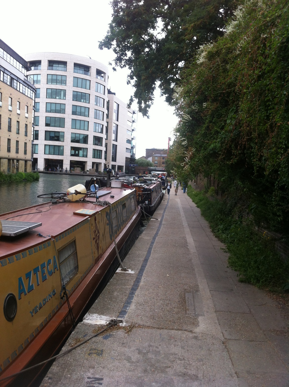 Regents Canal at King's Cross