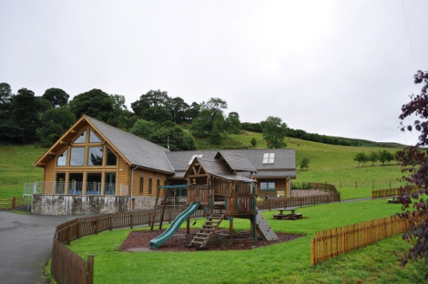The leisure centre at Black Hall Lodges