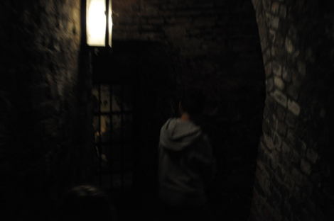 Dungeon tour at Norwich Castle