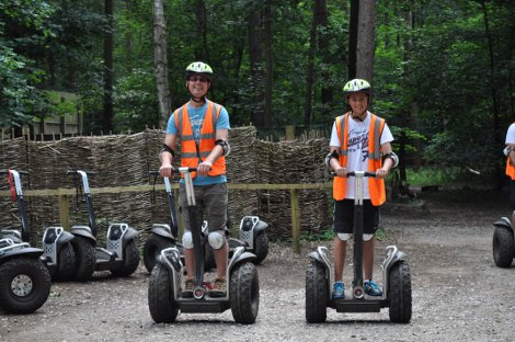 The Segways at Center Parcs