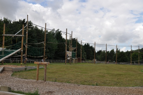 The 'Sky-Trek' at Banham Zoo