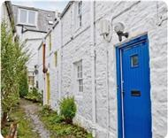 Blue Door in Kirkcudbrightshire