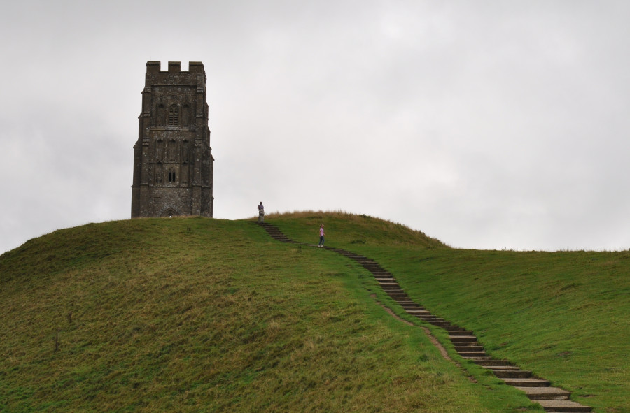 Glastonbury Tor is 6 miles from Bucks Cottage, and has fabulous views across Somerset