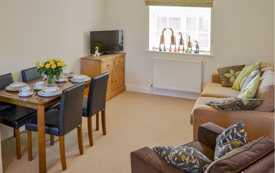 The living room at Coots Nest near Norwich