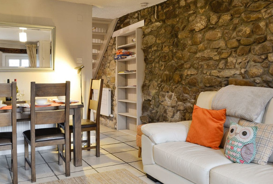 The living room at Marron Cottage near Cockermouth