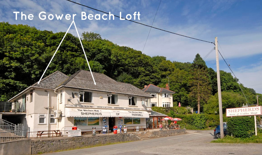 The Gower Beach Loft in Three Cliffs Bay, Gower Peninsula