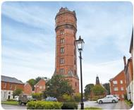 The Water Tower in Staffordshire
