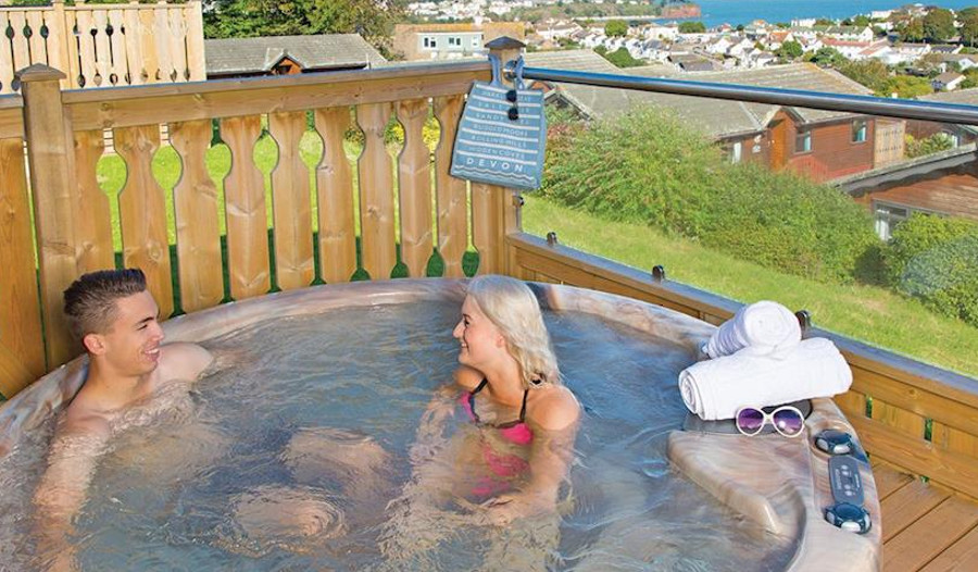 Choose a lodge with a hot tub at Beverley View Holiday Park