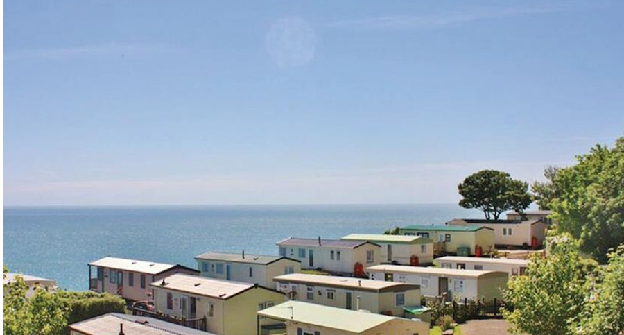 Cove Holiday Park on the Isle of Portland has views across the English Channel