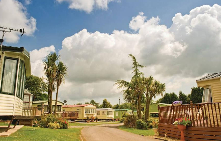 Cross Park Holiday Village in Broadmoor, South Wales