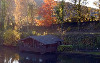 Herons Lake Retreat in Caerwys, Flintshire