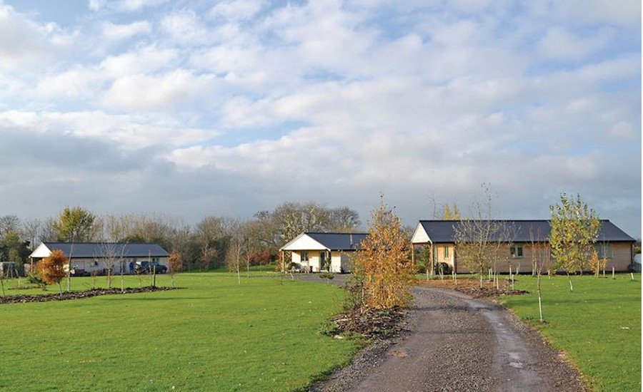 Little Moorland Farm Lodges in Chapel Allerton, Somerset