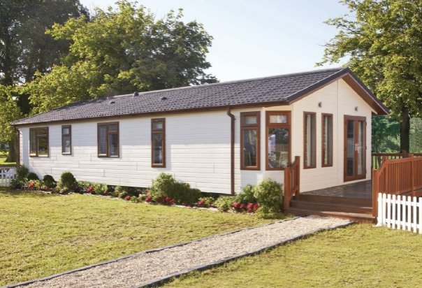 One of the lodges at Ream Hills Holiday Park in Blackpool