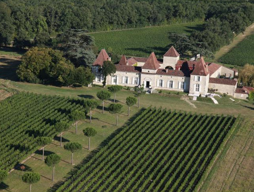 Chateau Tournesol in Nerac, Gascony