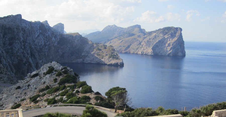 Views from Cap Formentor