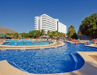 Thomas Cook Aquamania Club Mac resort on Menorca