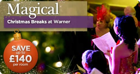 Christmas and New Year holidays at Warner